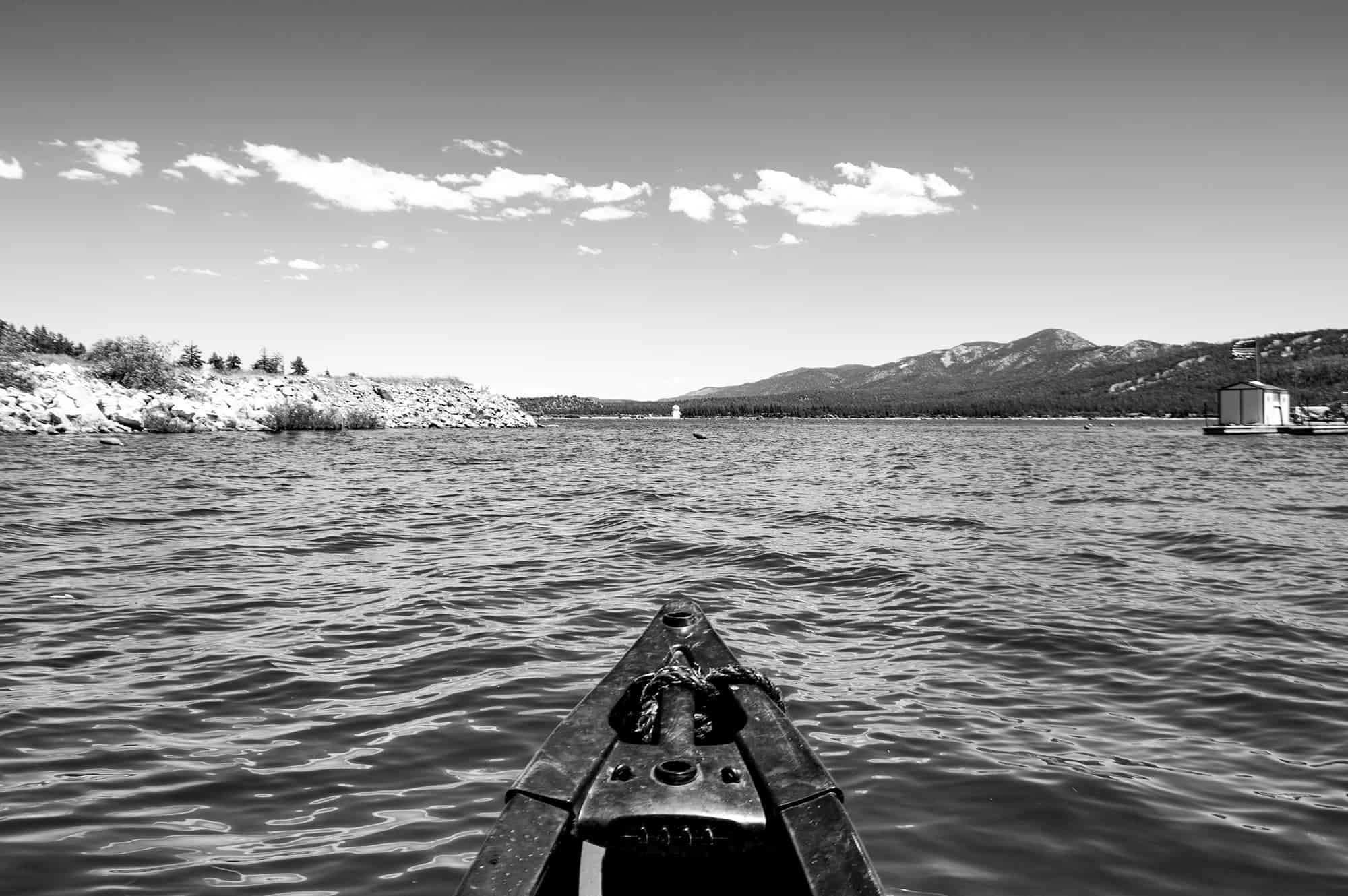 Big Bear Lake Canoe