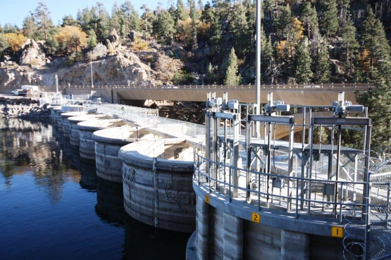 Big Bear Dam Now