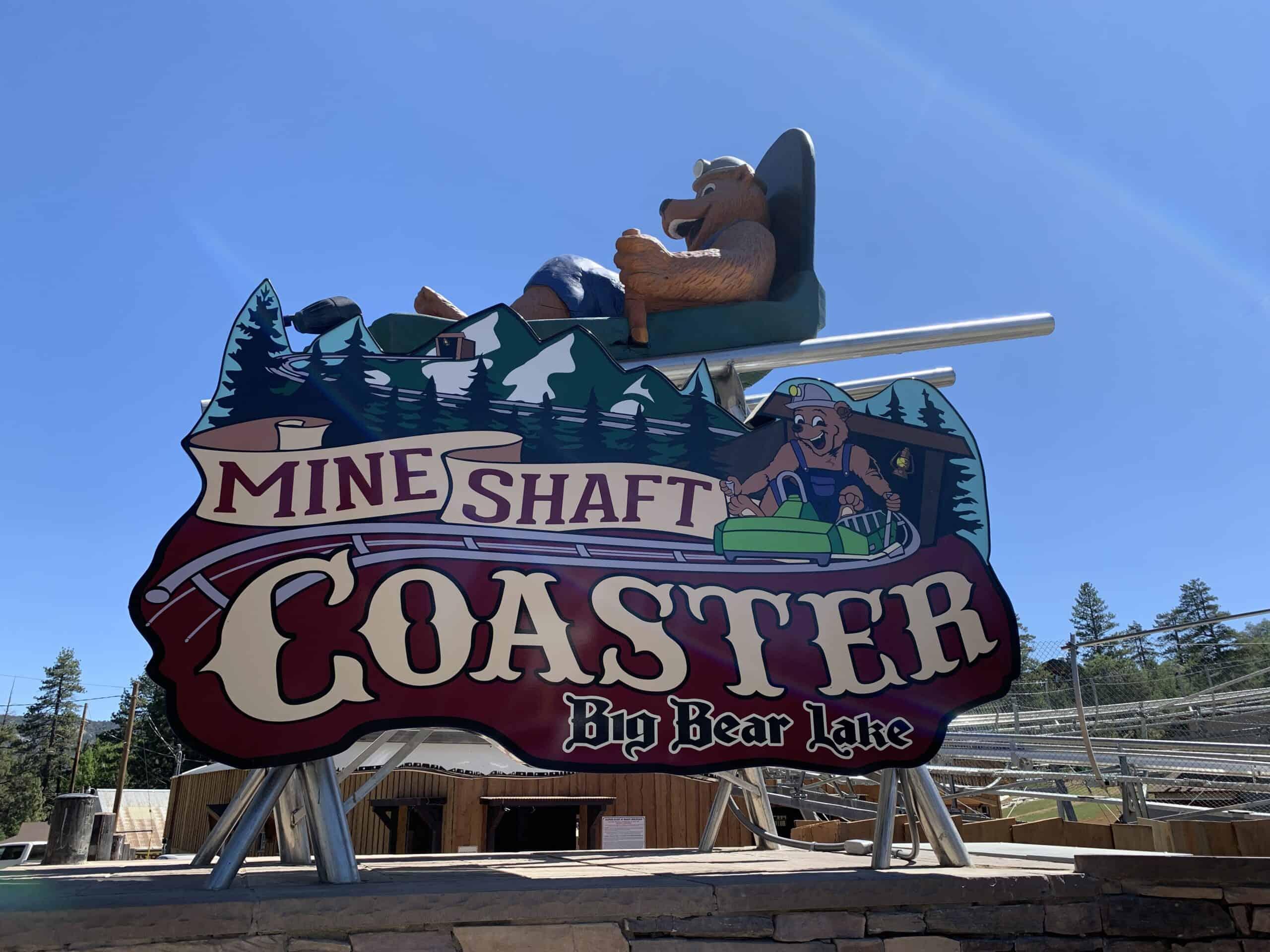 New Mineshaft Coaster In Big Bear